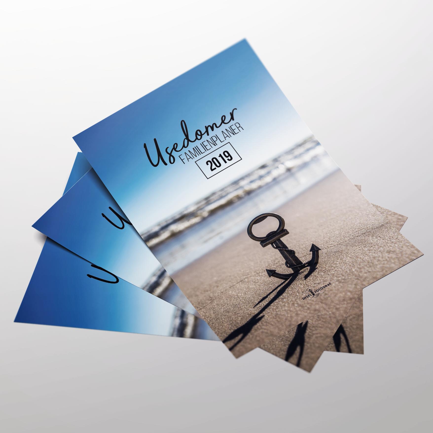 Familienplaner Usedom Kalender Din A3 2019 Insel Fotografeu Ihr